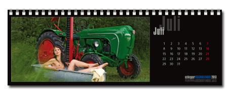 pin up kalender schlepperkalender. Black Bedroom Furniture Sets. Home Design Ideas